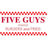 Five Guys Coupon – 10% Off Entire Order