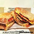 Jack In The Box Loaded Grilled Breakfast Sandwich