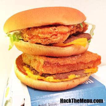 McDonalds Land, Sea, and Air Burger