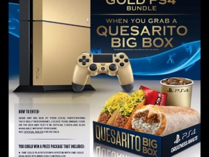 Taco Bell – PlayStation 4 Game through Nov 4th