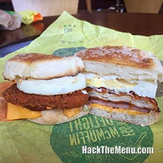 McDonalds Chicken Cordon Bleu McMuffin