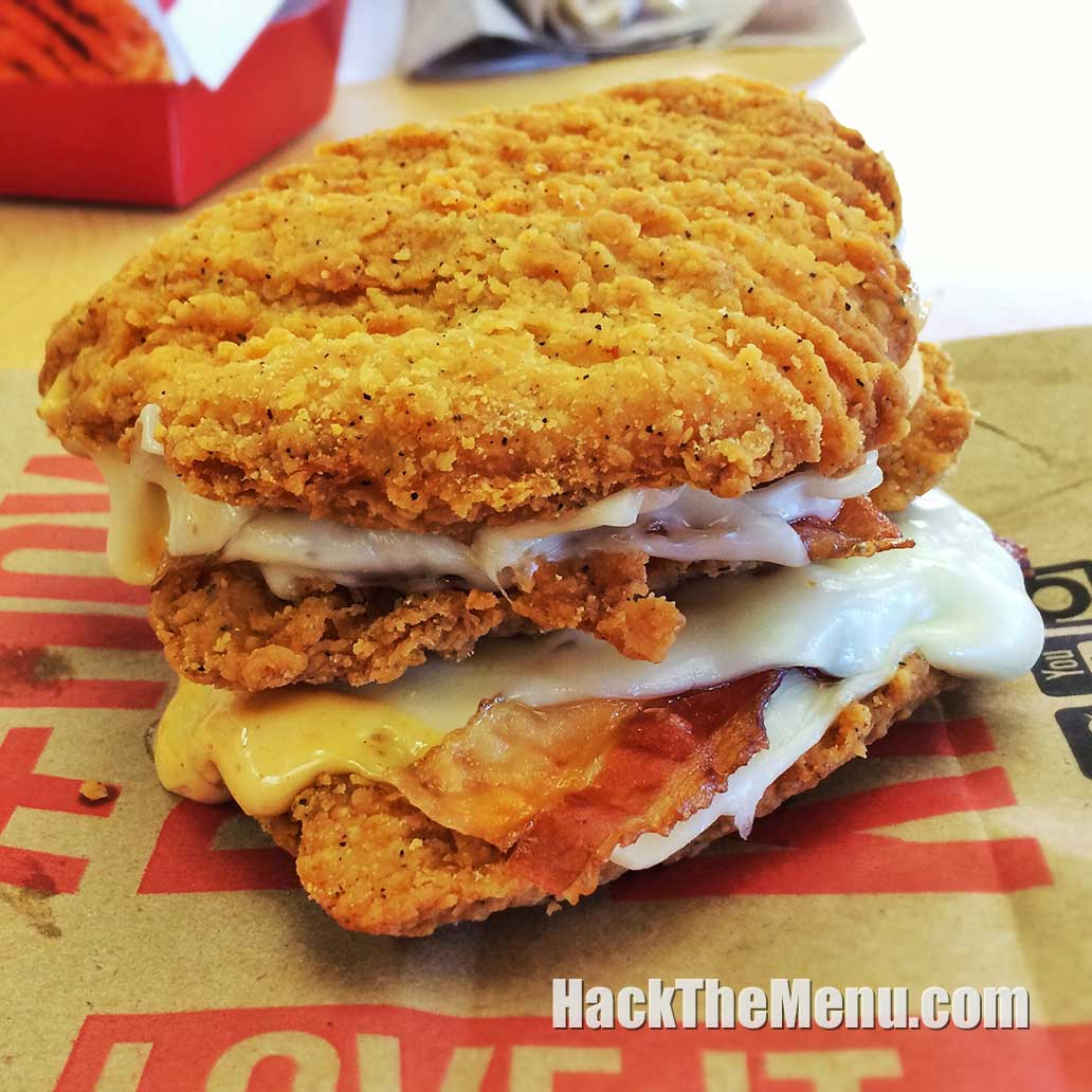 Triple Down - KFC Secret Menu | #HackTheMenu - photo#10