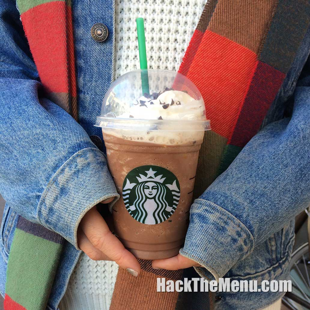 Starbucks Chocolate Cream Frappuccino