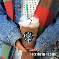 Starbucks Chocolate Cream Frappuccino