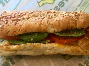 An Honest Review: Subway's Chicken Caesar Melt