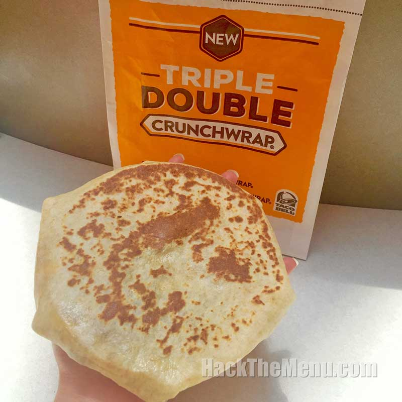 New Taco Bell Triple Double Crunchwrap