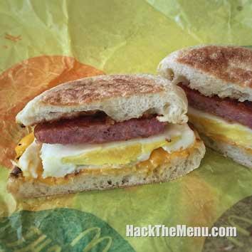 McDonalds Portuguese Sausage McMuffin w/ Egg